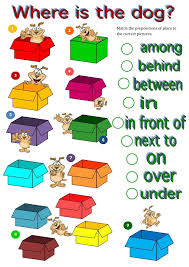 prepositions where is the