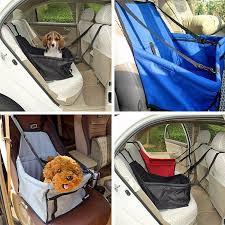 protection siege auto arriere panier imperméable protection siège arrière auto voiture pour chien bleu