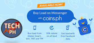 get a load of all how to buy load using messenger via coins ph trendingtechph