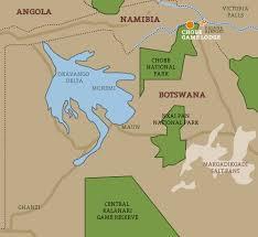 National Parks Us Map Safari With Us Chobe River And National Park Botswana Safaris