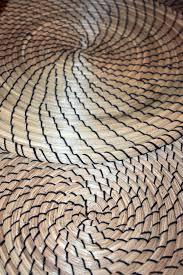 le stuoie multiplo di fibonacci contrappone le stuoie a spirale formate