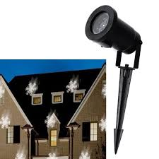 Light Flurries Snowflake Projector Review by Outdoor Waterproof Moving Snowflake Landscape Projector Light W