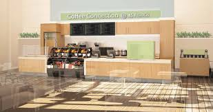 food services outlines renovation plans for cafeteria coffee