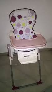 chaise haute babymoov slim achetez chaise haute occasion annonce vente à le pian médoc 33