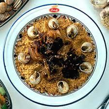 recette cuisine couscous tunisien escagot tunisie
