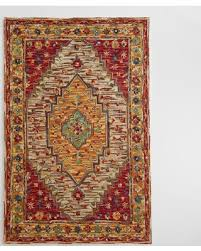 save your pennies deals on zahra caravan tufted wool area rug