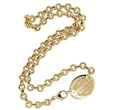 luxury bracelet gold chains images Tiffany co luxury 18k gold please return to tiffany co choker jpg