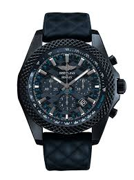 breitling bentley diamond a classy chassis breitling for bentley gt dark sapphire edition