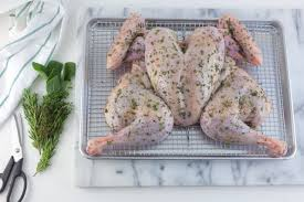 how to season the turkey for thanksgiving how to spatchcock and roast a turkey allrecipes