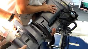yamaha outboard impeller change youtube
