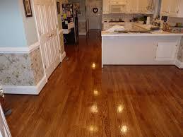 Golden Oak Laminate Flooring 2 1 4 U0027 U0027 Red Oak Hardwood Flooring Stained Golden Oak And Coated