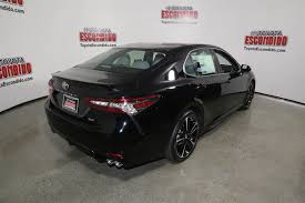 new 2018 toyota camry xse 4dr car in escondido 1015413 toyota