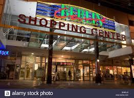 entrance berlin shopping centre berlin germany stock photo