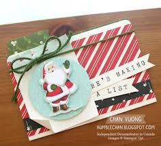 A file folder Christmas card made with Home For Christmas DSP from