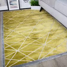 Modern Yellow Rug by Modern Runner Rugs Modern Geometric Runner 34368 34368 Modern