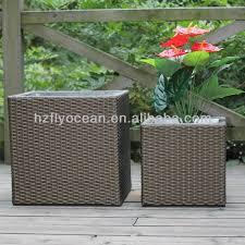 fo 9406 square garden rattan planter boxes buy rattan planter