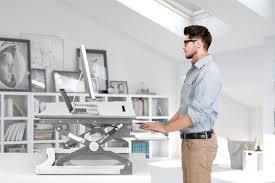 Desk Risers For Standing Desk Kogan Height Adjustable Standing Desk Riser Medium White