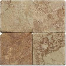 Pink Tile Floor Tile Marble Pink Natural Stone Round Edge Matt 10x10x2 Cm