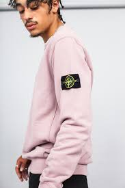men u0027s stone island crewneck sweatshirt antique rose sold out