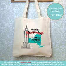 wedding gift destination wedding new york destination wedding bag design proof only empire state