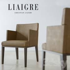 Christian Liaigre Armchair 3d Models Chair Christian Liaigre Toribio Chair