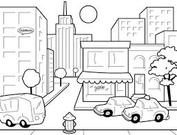 city coloring pages eliolera com