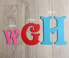 decorative wall letters ebay
