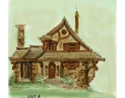 Storybook Cottage House Plans 17 Best Dream Home Fantasy Style Floor Plans Images On Pinterest