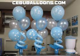 christening balloon decorations party favors ideas