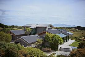 Bedroom Ideas New Zealand Natural Landspace Design In Te Horo Wetland House Design In New