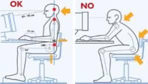 postura corretta scrivania postura chipos it