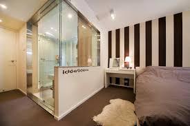 une chambre idée déco pour une salle de bain dans une chambre