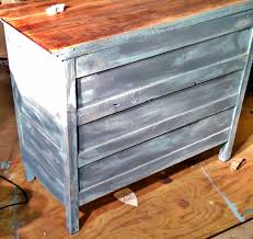 How To Make Furniture Look Rustic by Distressing Wood Peeinn Com