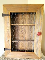 Spice Cabinets With Doors Chicken Wire Kitchen Cabinet Replacing Glass In A Cabinet With