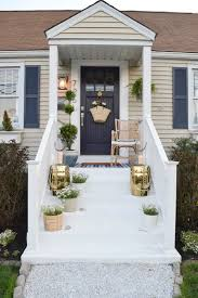 House With Front Porch by Front Porch Ideas And Designing The Outdoors Nesting With Grace