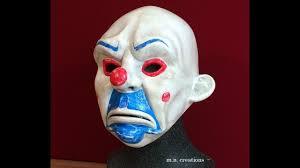 Heath Ledger Halloween Costume Joker Clown Mask Heath Ledger Dank Knight Batman Halloween
