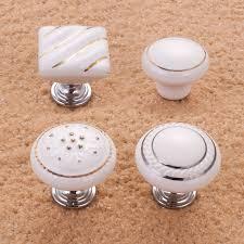 porcelain knobs for kitchen cabinets white porcelain kitchen cabinet knobs quicua in door handles