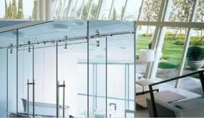 Double Glass Door by Saving Double Sliding Barn Door Hardware For Office Double Glass