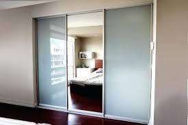 Bedroom Closet Sliding Doors Bedroom Closet Sliding Doors Glass Door For Inspirations 11