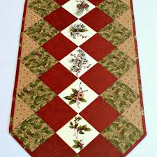 fall table runner quilted table runner from redneedlequilts