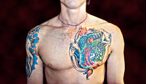 Mens Tattoo Cover Up Ideas Chest Piece Tattoo Cover Up By Liz1ttrstudio On Deviantart