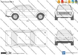 templates cars ford ford escort mk ii