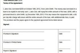 sample lump sum payment agreement templatezet