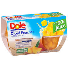 dole fruit bowls dole fruit bowls diced in 100 fruit juice 4 4oz cups