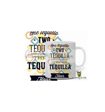 Buy Coffee Mugs Online India by 1 Tequila 2 Tequila 3 Tequila Floor Designer Coffee Mug Buy