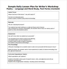 sample daily lesson plan 6 documents in pdf