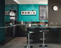 meuble de cuisine noir meuble cuisine gossip noir avec cool plan credence cuisine verre