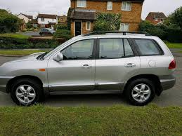 2006 hyundai santa fe cdx in leicester leicestershire gumtree