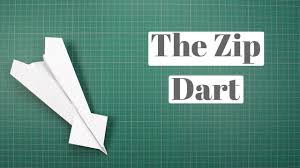 Design By Yourself by How To Make The Zip Dart Paper Airplane By Yourself One Of The