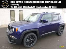 purple jeep renegade 2017 jetset blue jeep renegade altitude 119022717 gtcarlot com